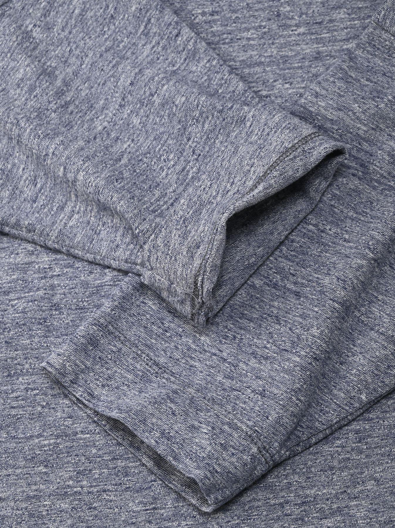 Top Zimbabwe Cotton Big Slit T-shirt (0721)-7