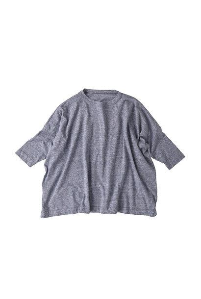 Top Zimbabwe Cotton Big Slit T-shirt