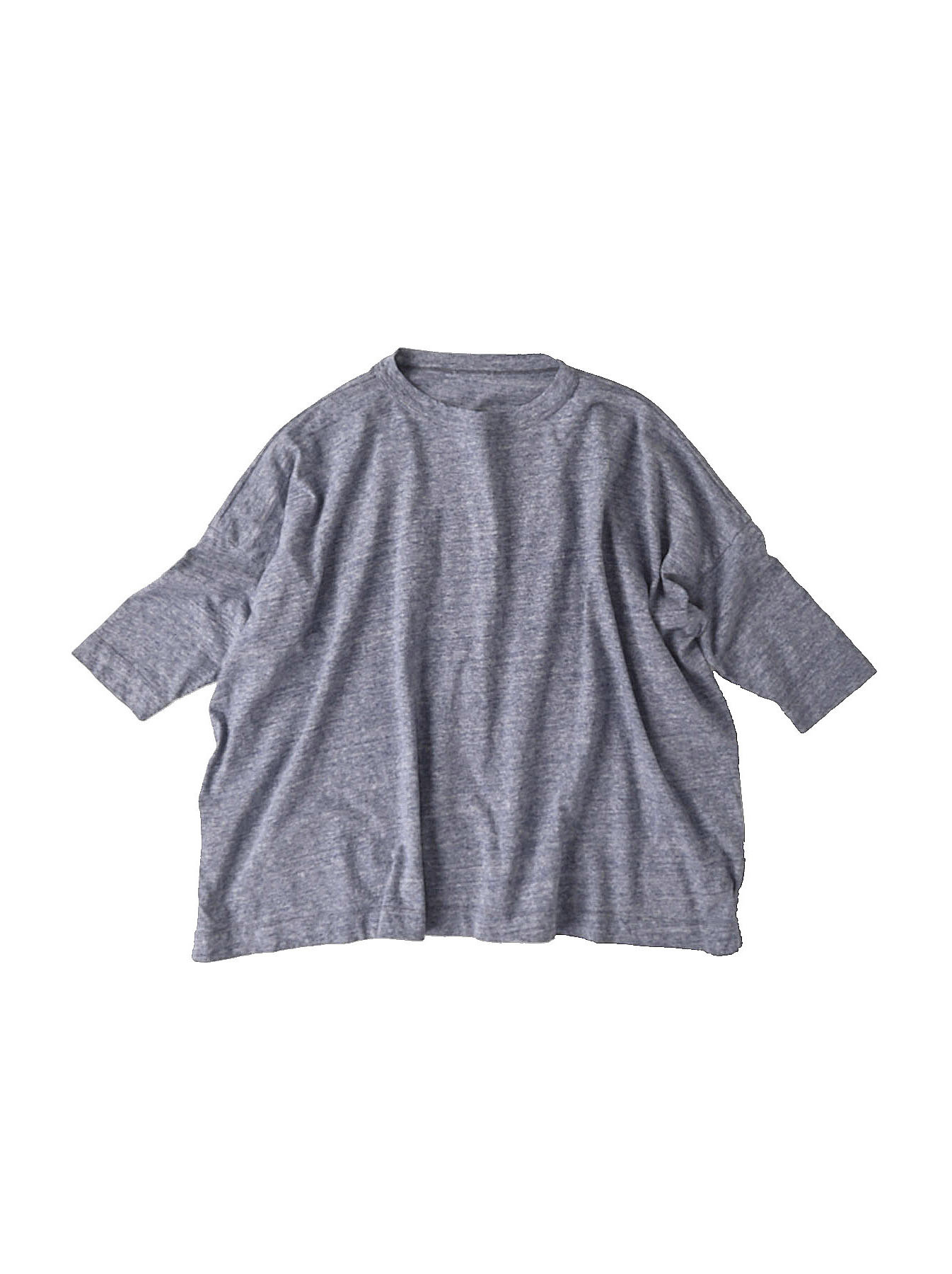 Top Zimbabwe Cotton Big Slit T-shirt (0721)-1
