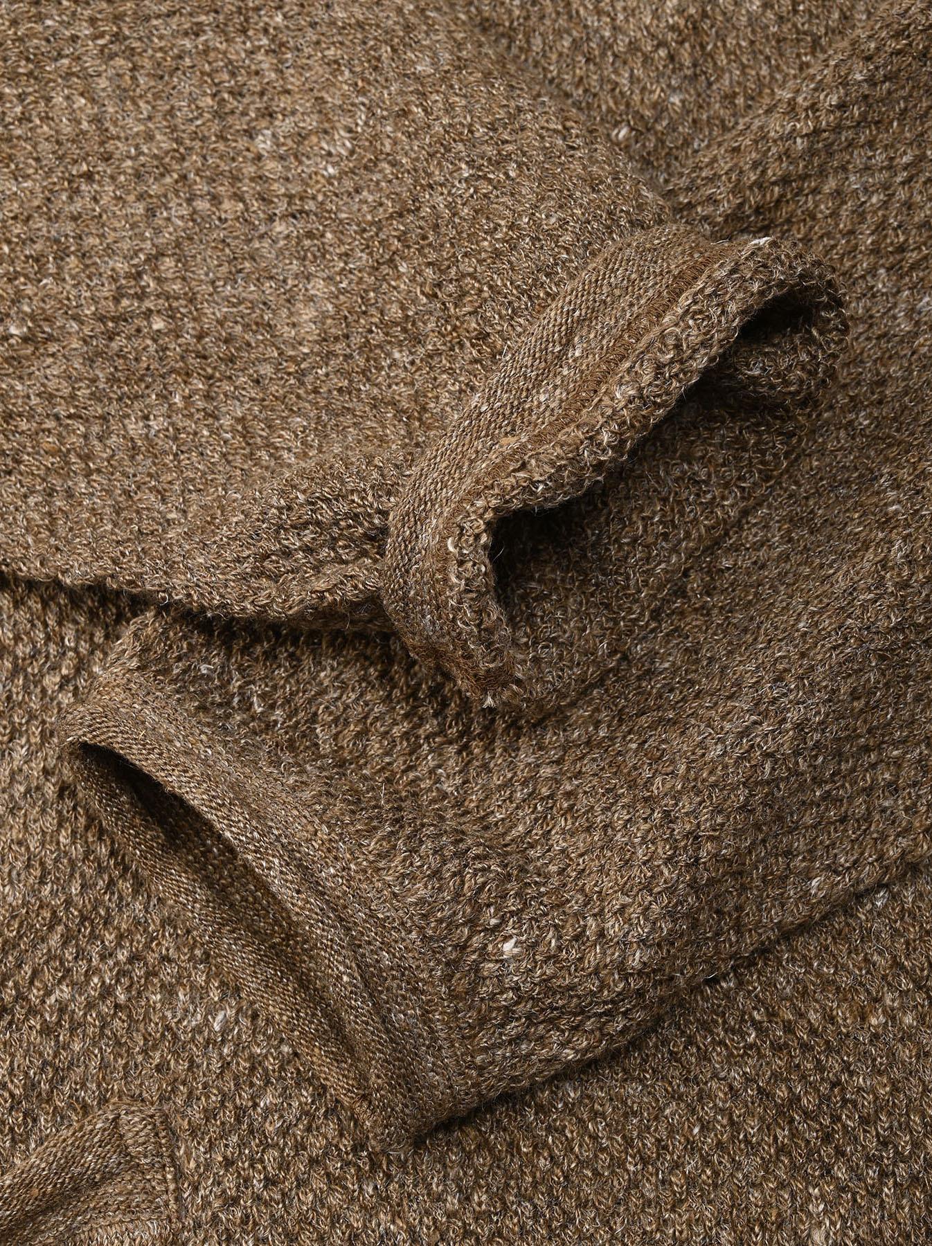 Linen Pique 908 Umahiko Sweater(0721)-7