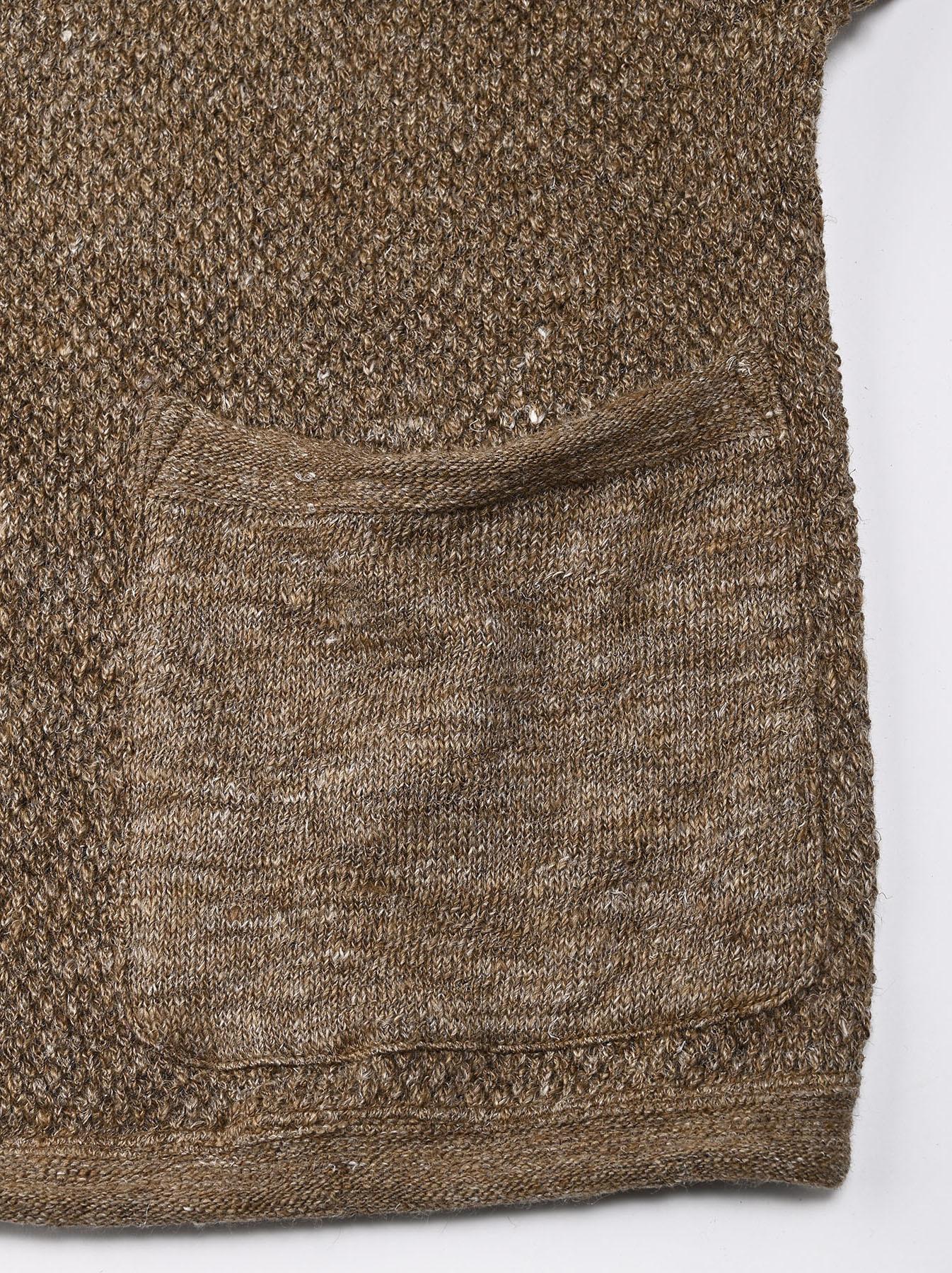 Linen Pique 908 Umahiko Sweater(0721)-8