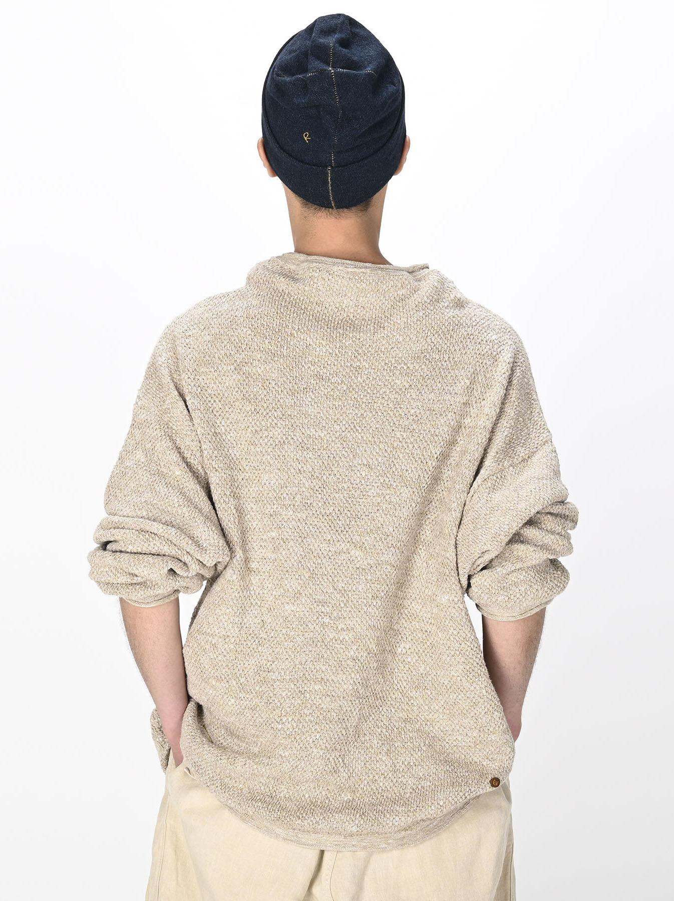 Linen Pique 908 Umahiko Sweater(0721)-11