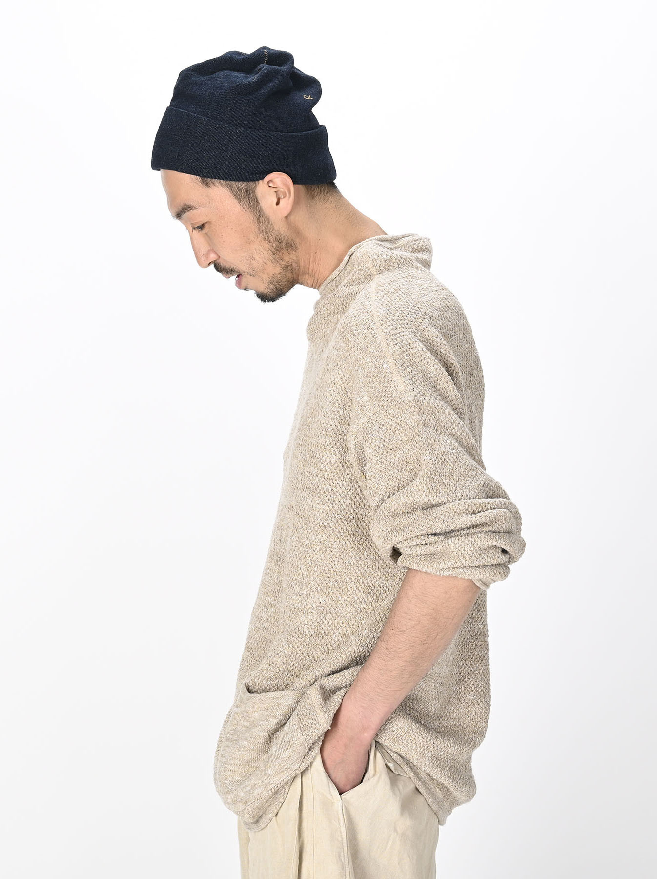 Linen Pique 908 Umahiko Sweater(0721)-10