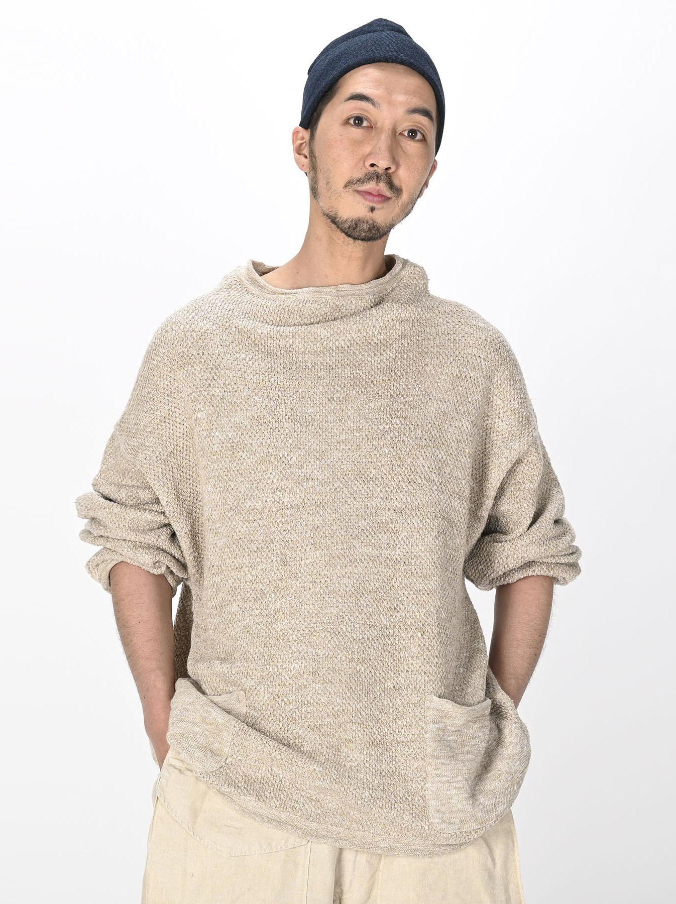 Linen Pique 908 Umahiko Sweater(0721)-9