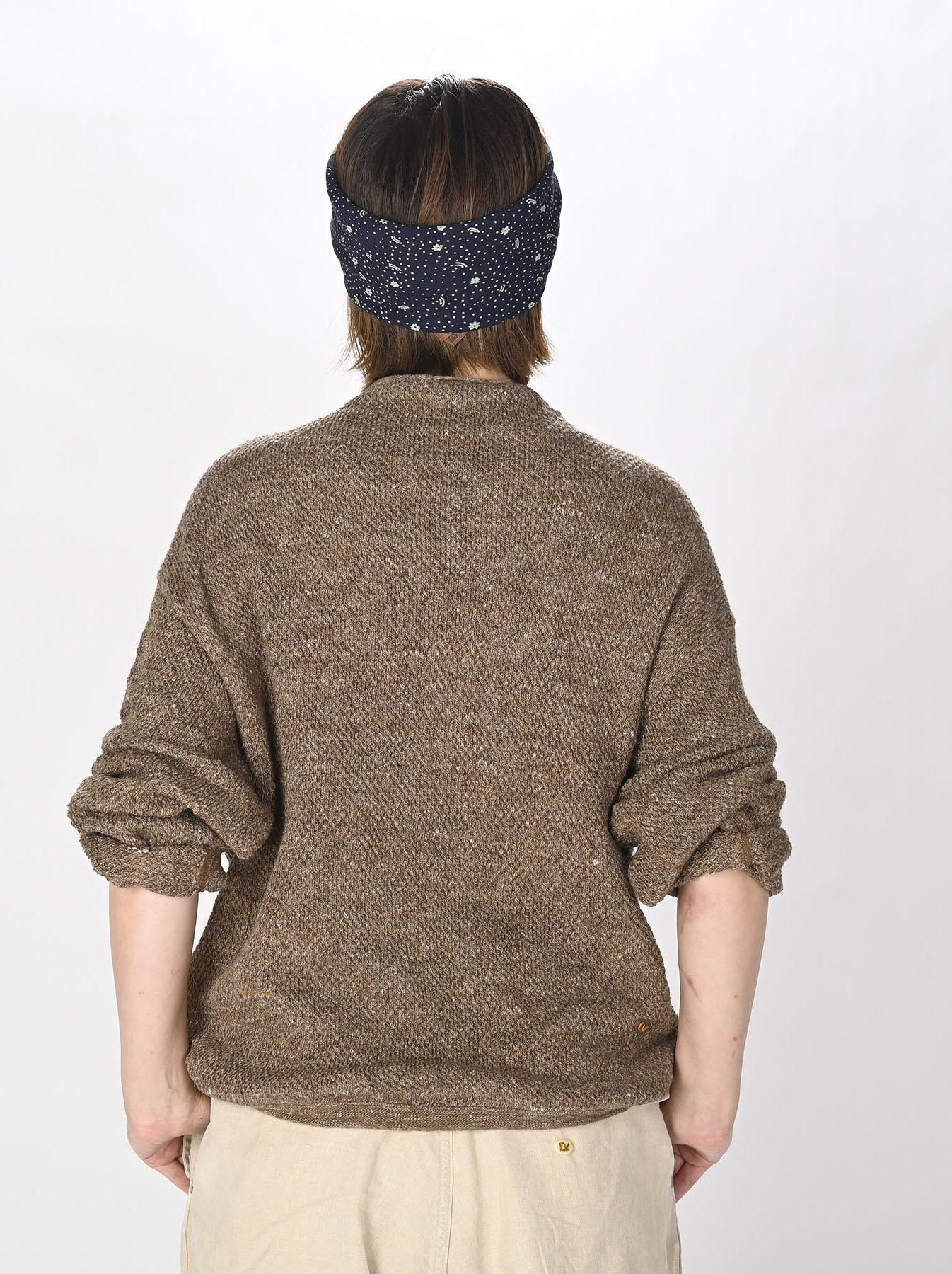 Linen Pique 908 Umahiko Sweater(0721)-5