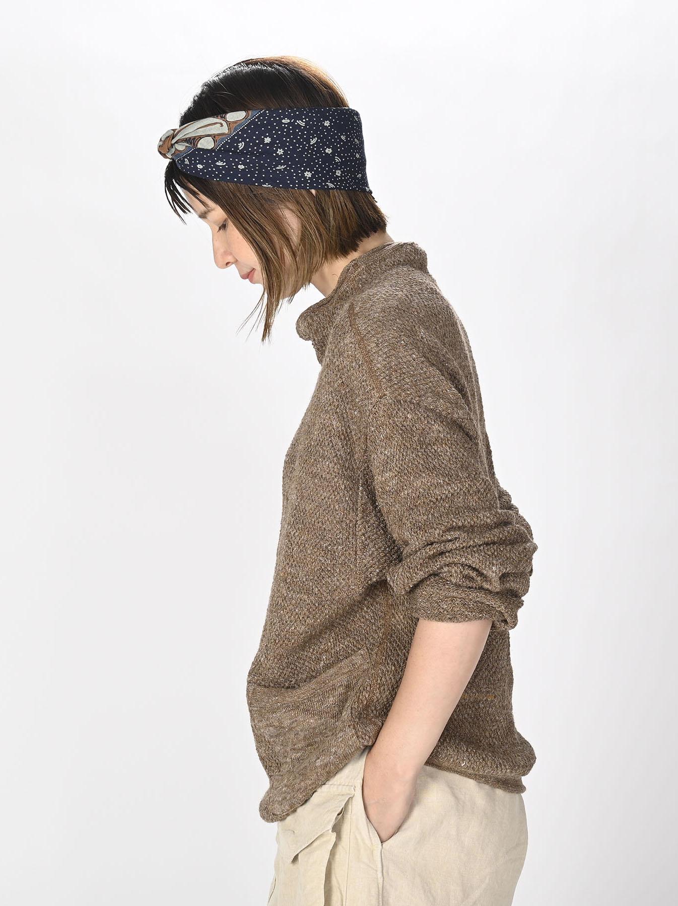 Linen Pique 908 Umahiko Sweater(0721)-4