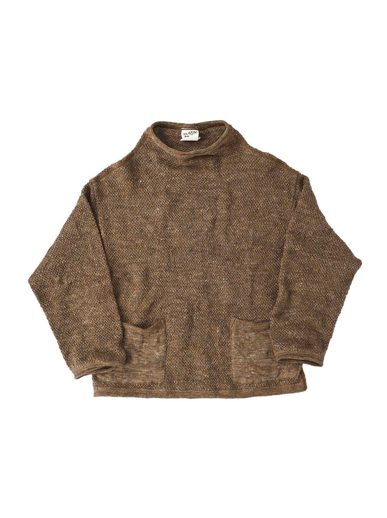 Linen Pique 908 Umahiko Sweater(0721)-2