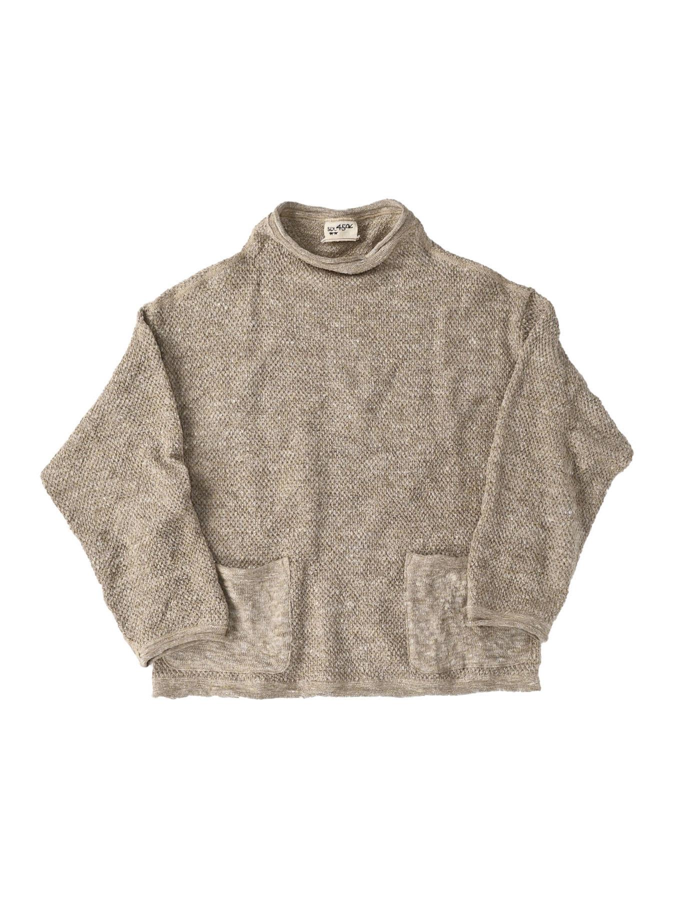Linen Pique 908 Umahiko Sweater(0721)-1
