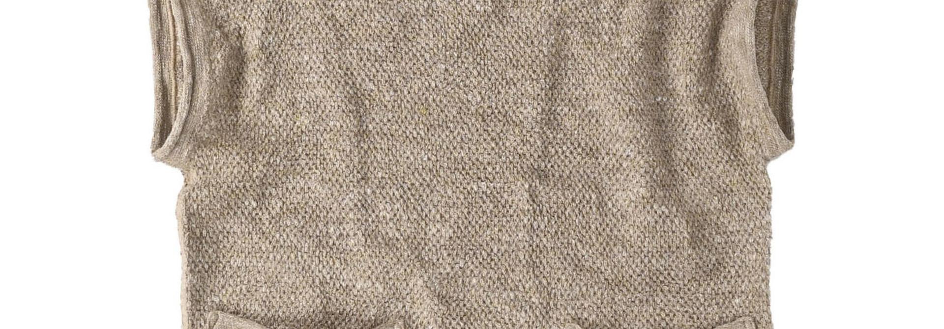 Linen Pique 908 Umahiko Vest(0721)