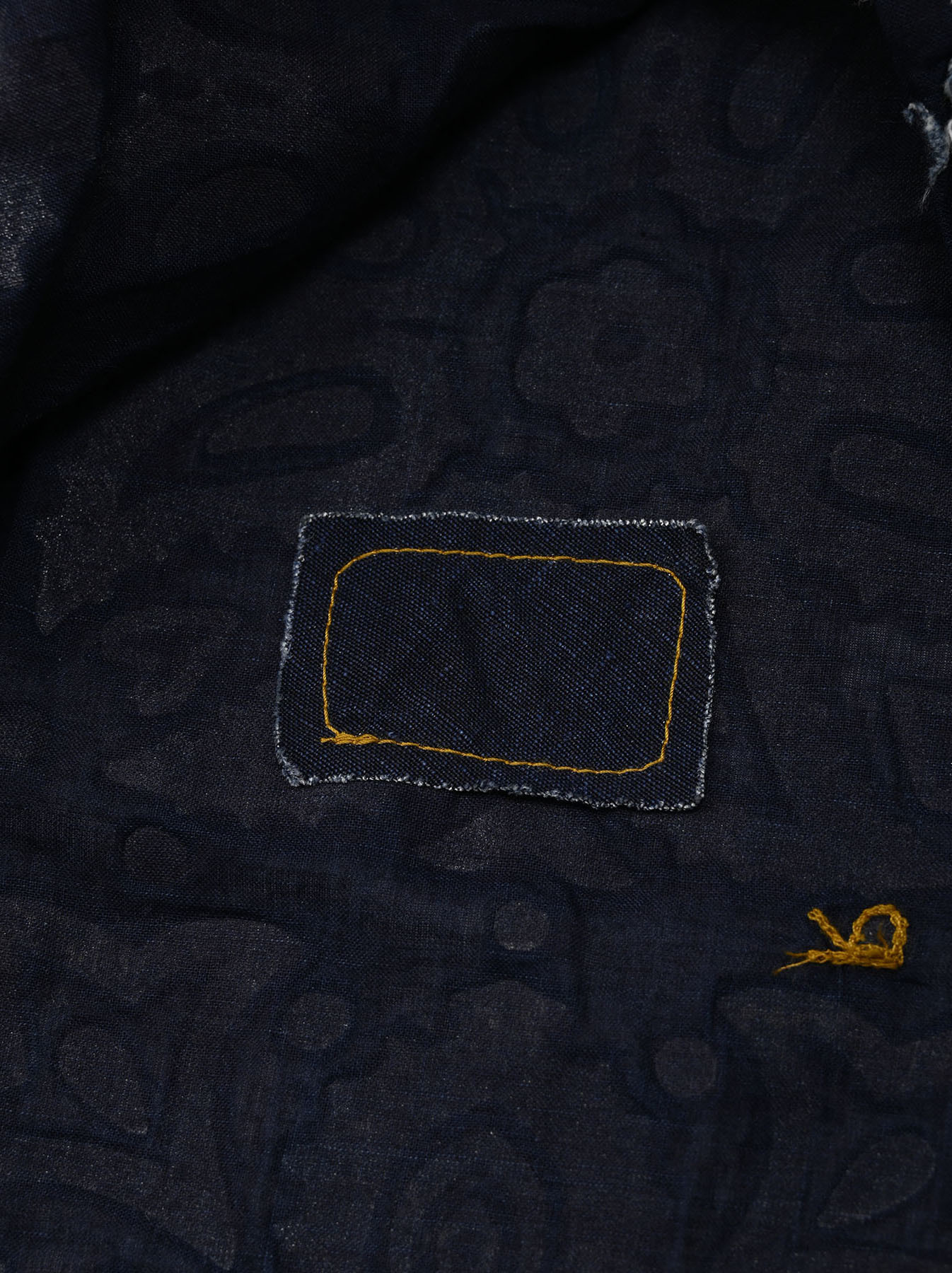 Indigo Bonding Sleeveless Top(0721)-9