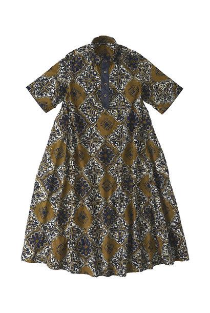 Batik Printed Capri Dress