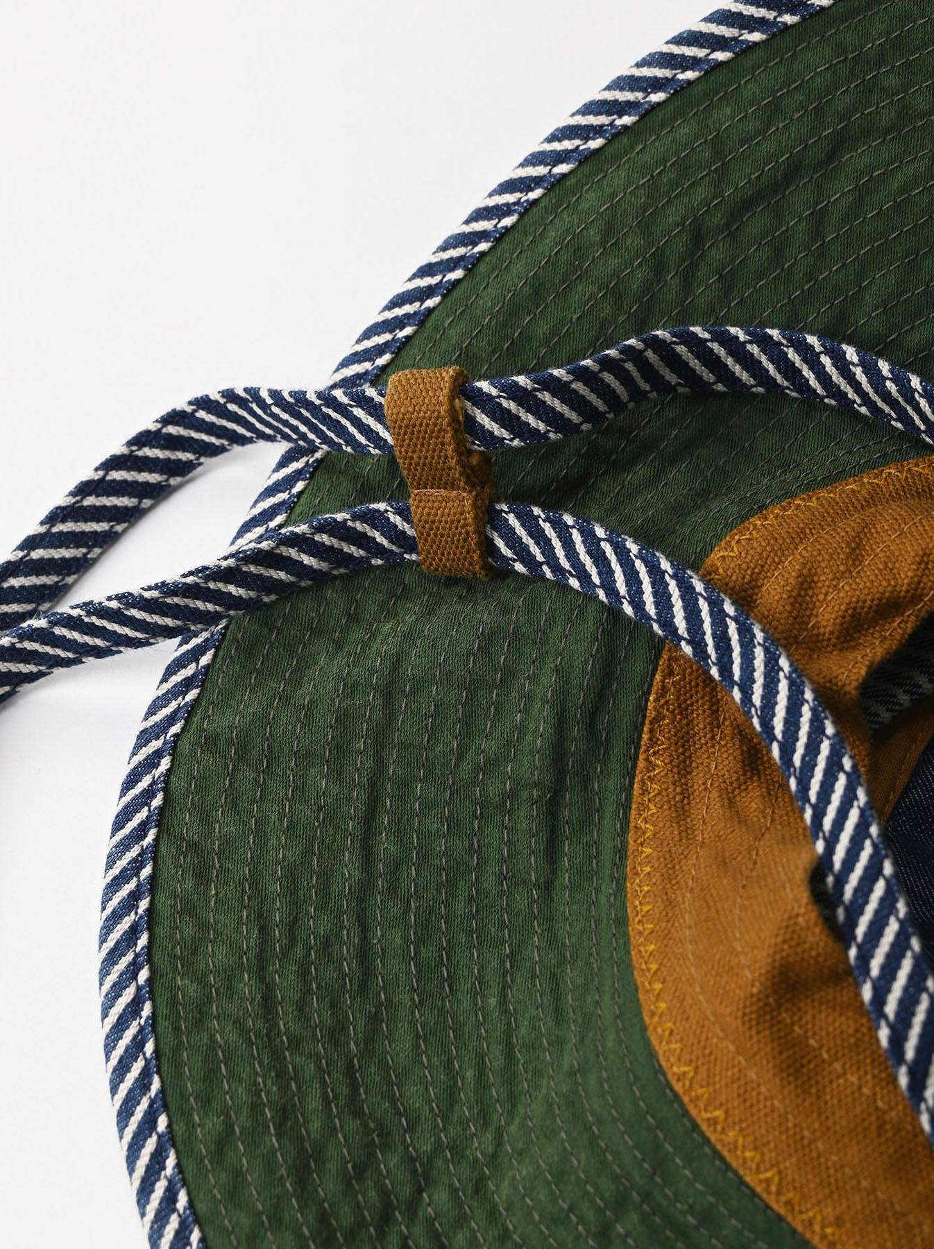 Denim Sail Hat Distressed(0721)-6