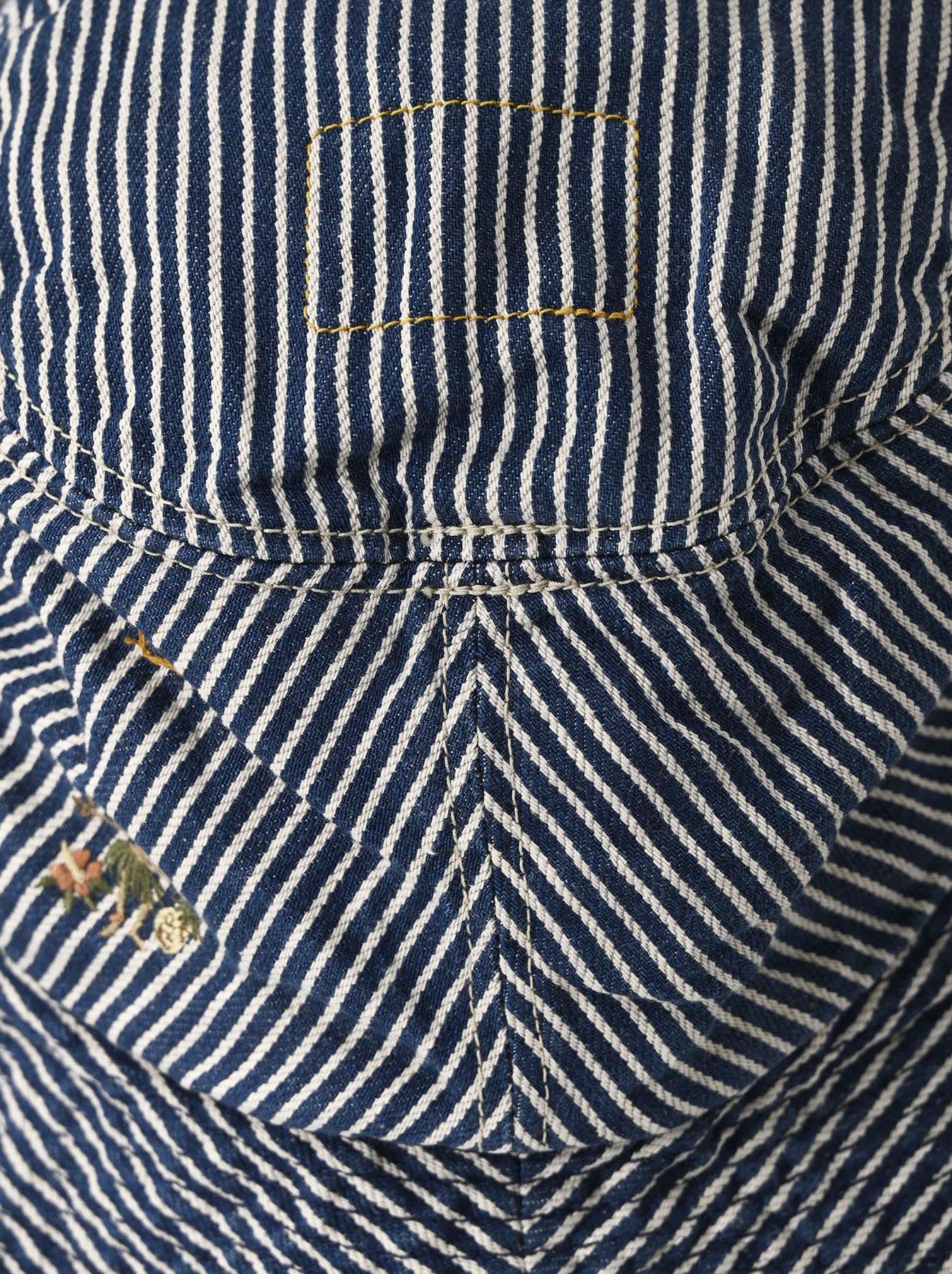 Denim Sail Hat Distressed(0721)-7
