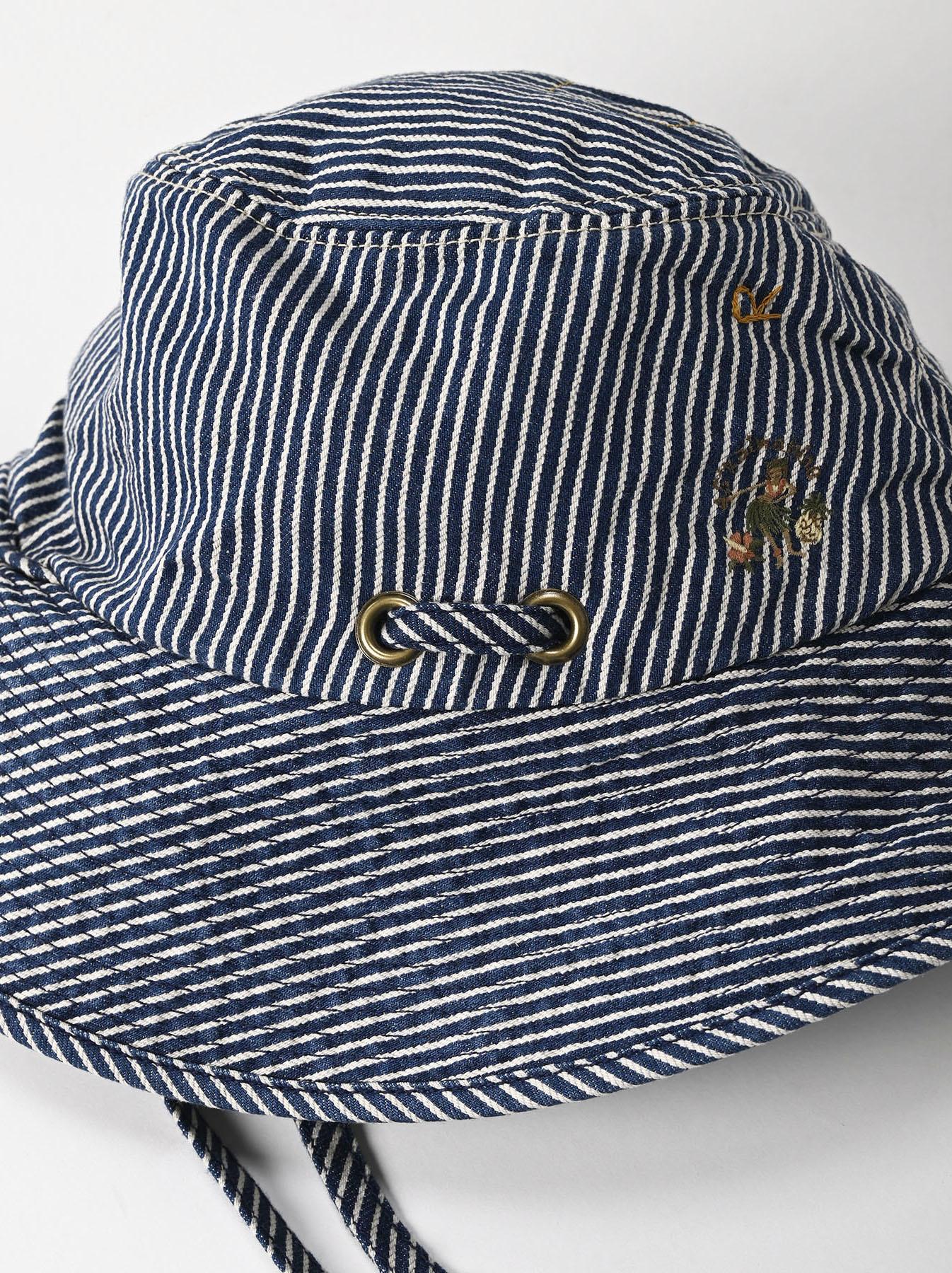 Denim Sail Hat Distressed(0721)-9
