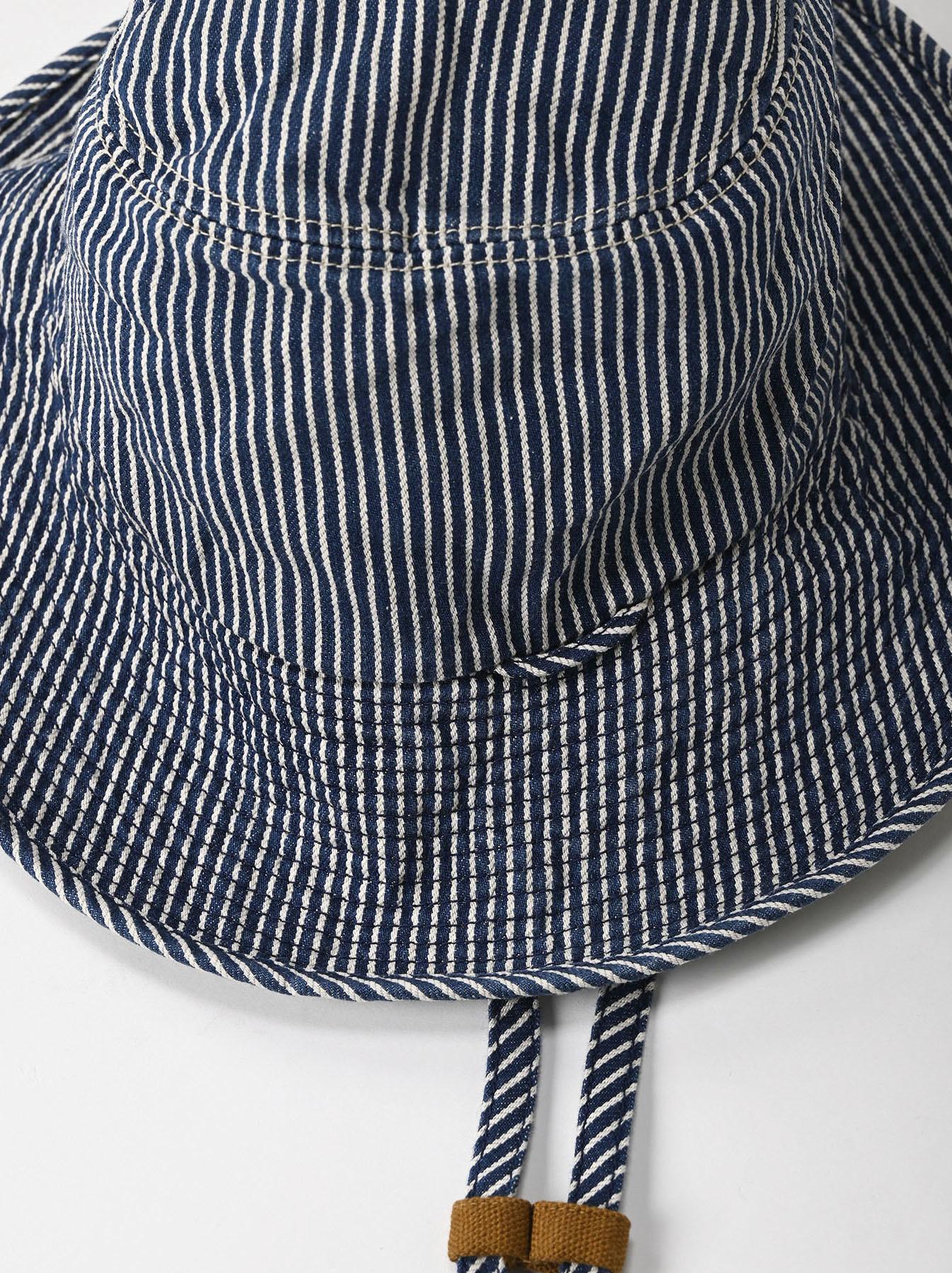 Denim Sail Hat Distressed(0721)-10