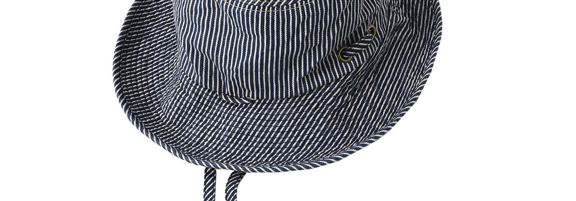 Denim Sail Hat Distressed(0721)