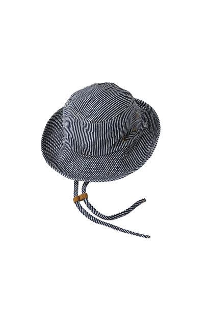 Denim Sail Hat Distressed