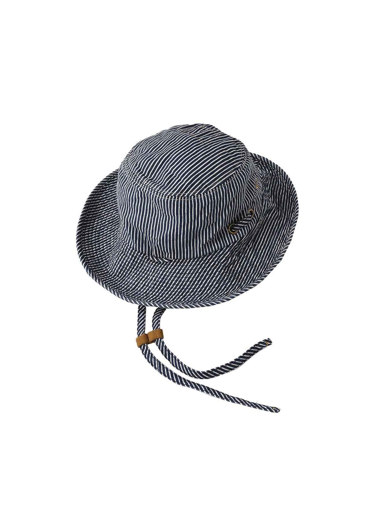 Denim Sail Hat Distressed(0721)-1