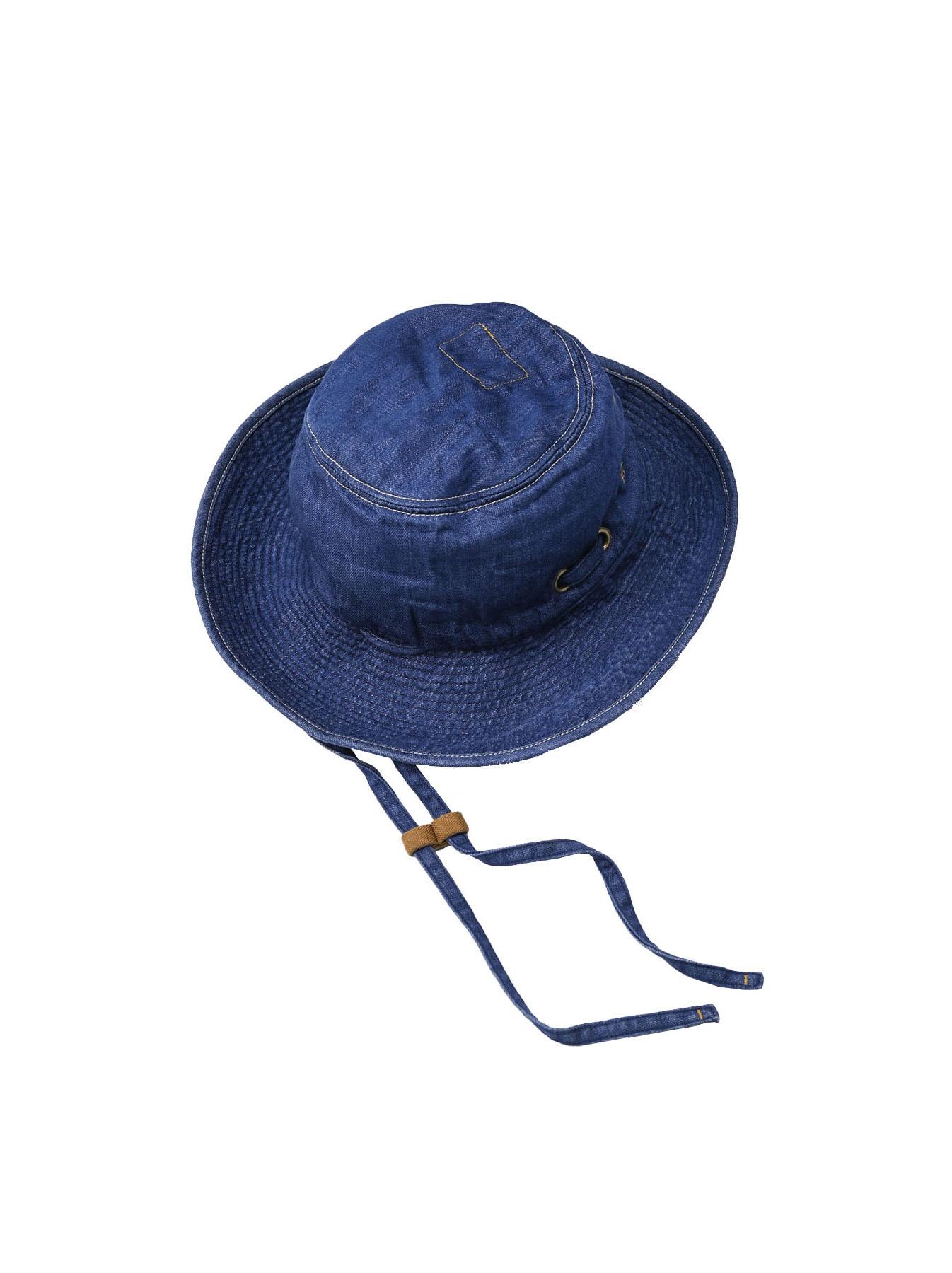 Denim Sail Hat Distressed(0721)-3