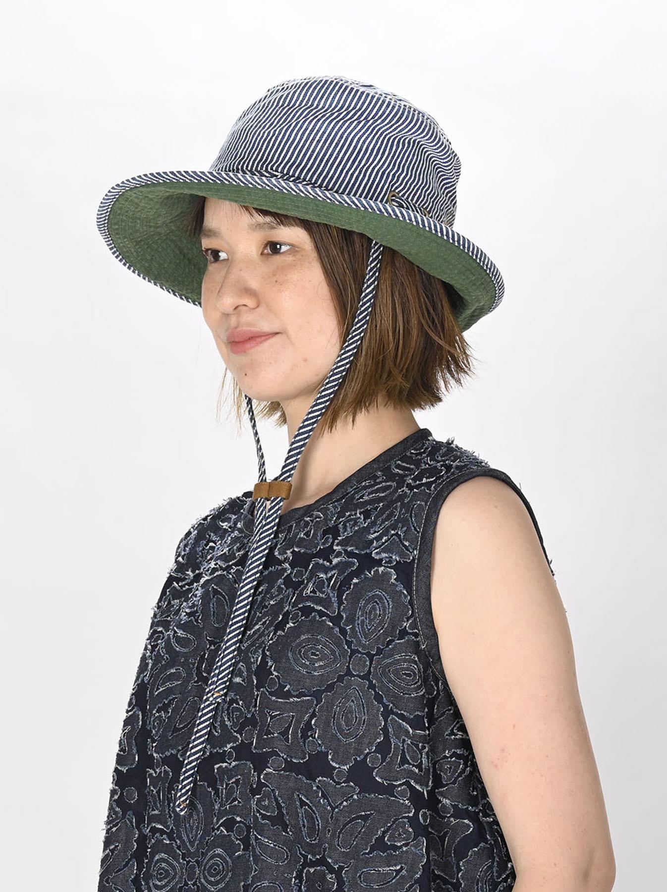 Denim Sail Hat Distressed(0721)-2