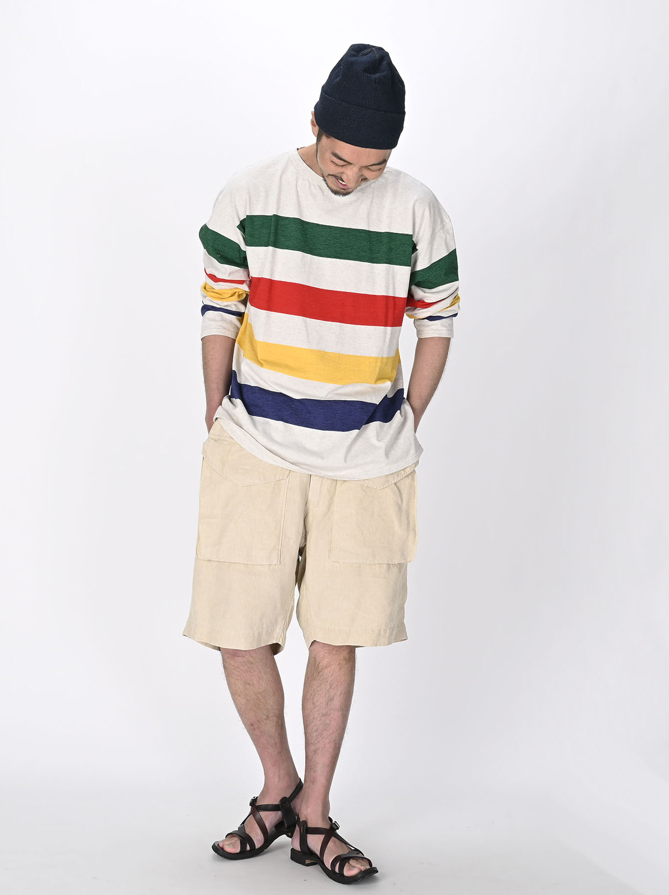 Linen 908 Easy Sail Shorts 0721)-2