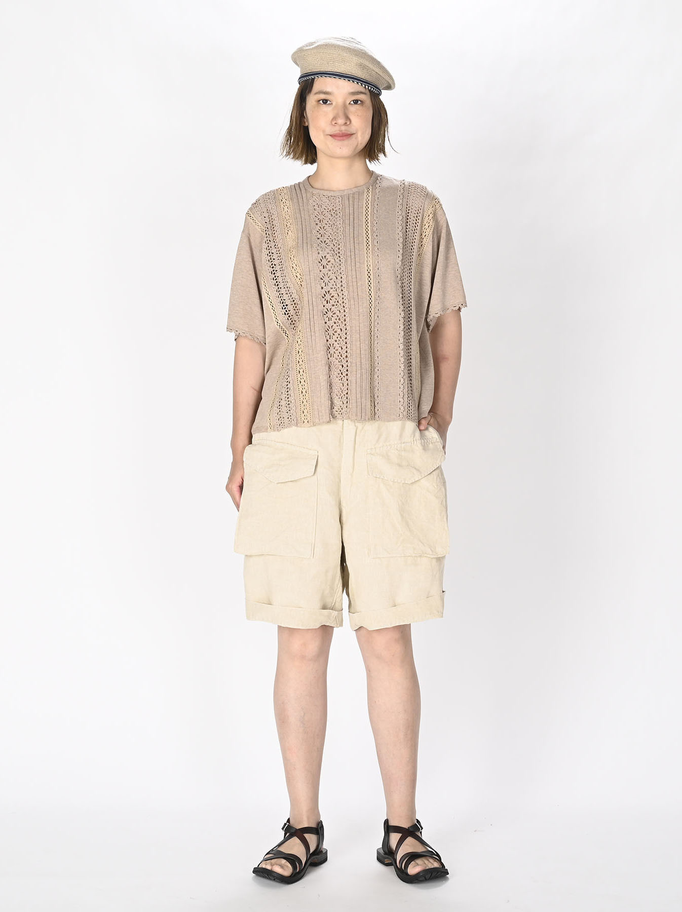 Linen 908 Easy Sail Shorts 0721)-3