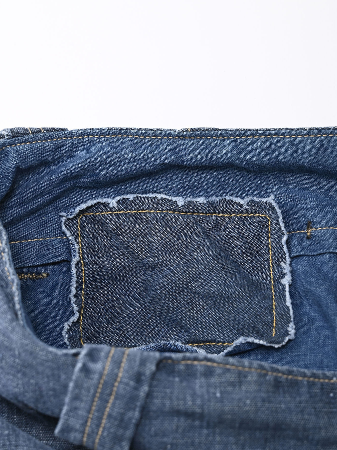 Indigo Linen 908 Easy Sail Pants Distressed (0721)-12