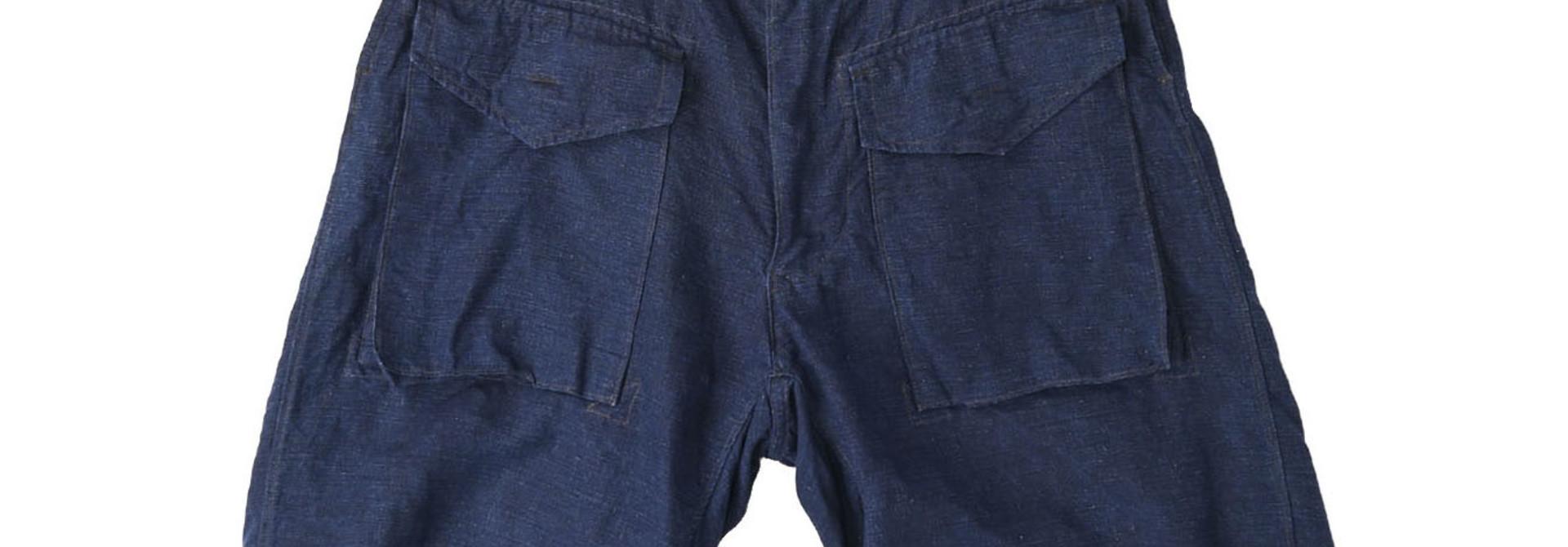 Indigo Nou Linen 908 Easy Sail Shorts (0721)