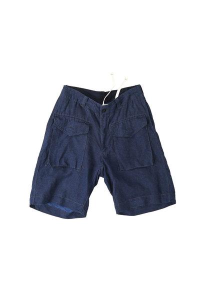 Indigo Nou Linen 908 Easy Sail Shorts
