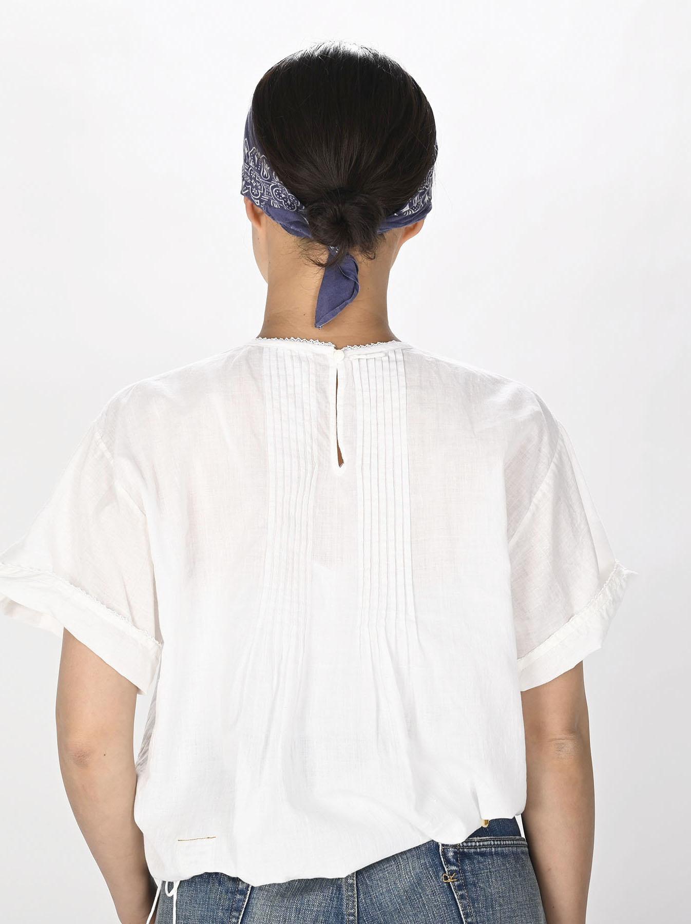 Khadi Lace de T-shirt (0721)-4