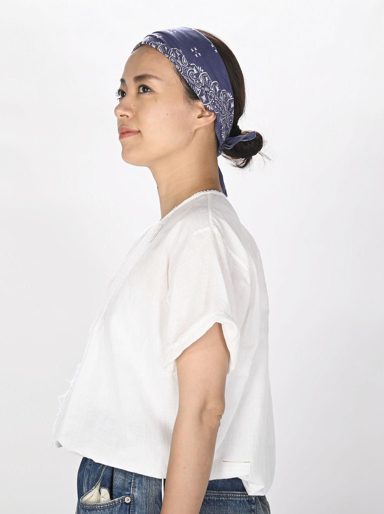 Khadi Lace de T-shirt (0721)-3