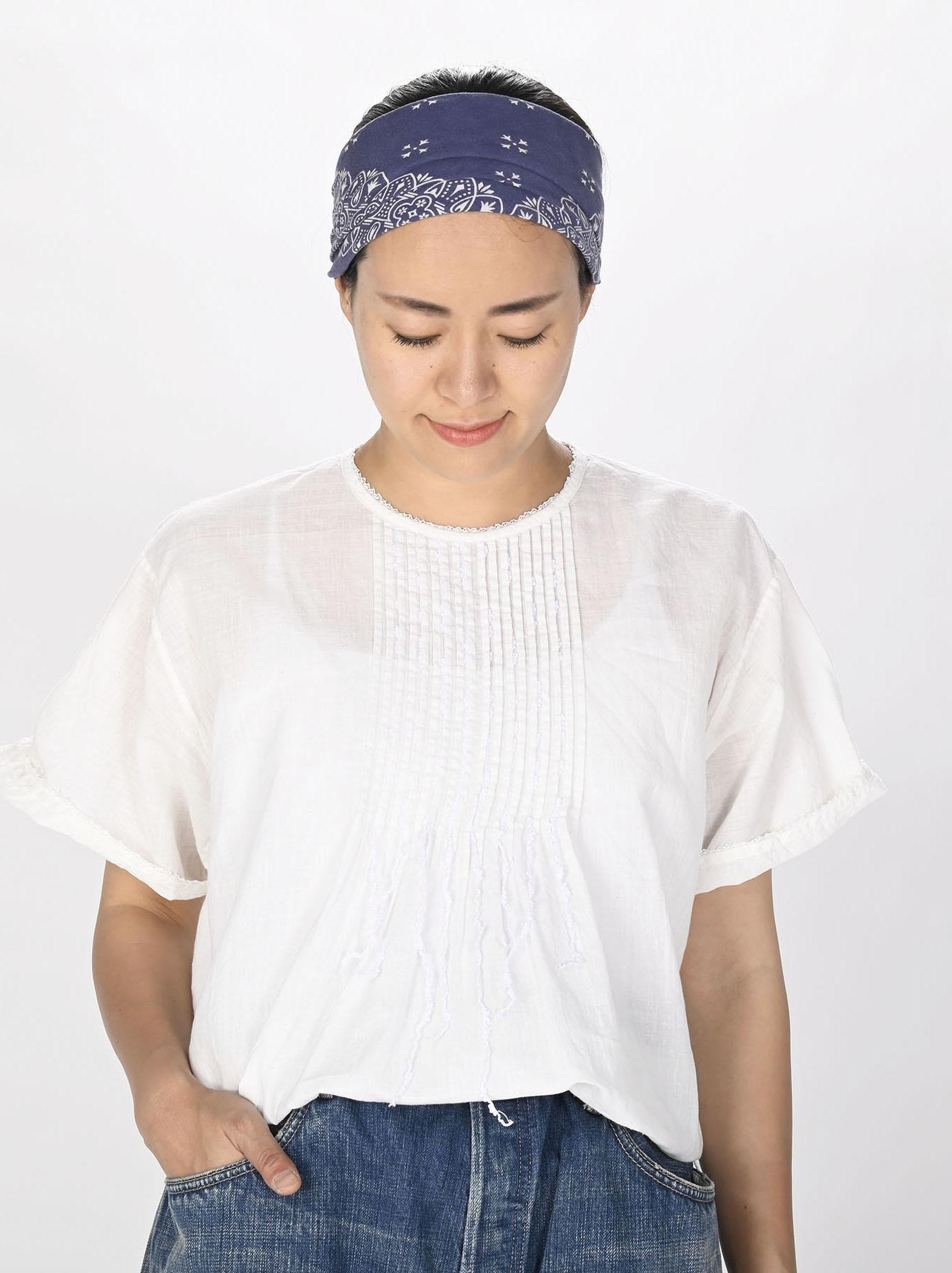 Khadi Lace de T-shirt (0721)-2