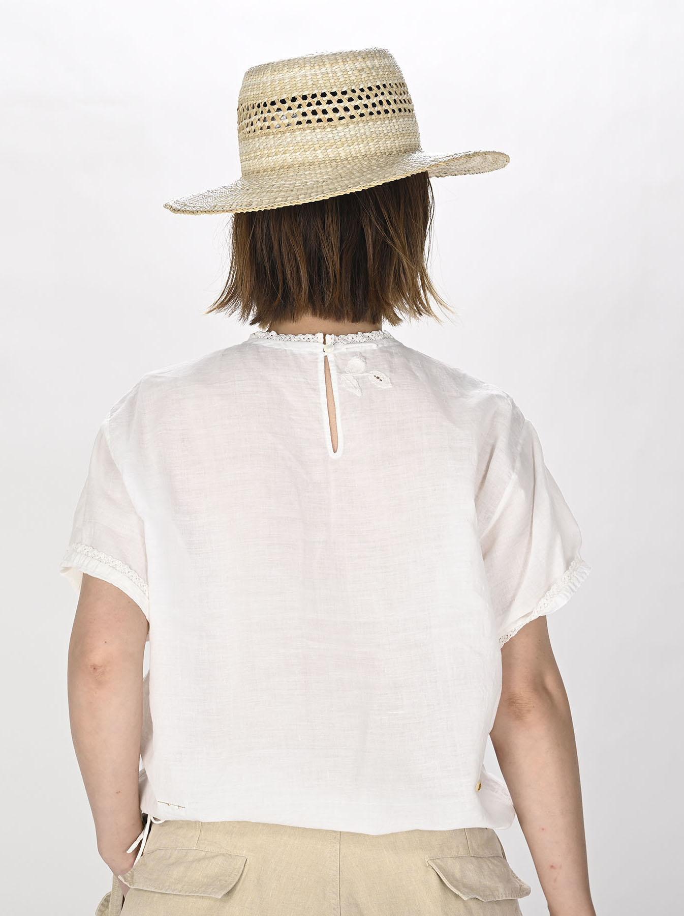 Khadi Stitch de T-shirt (0721)-4