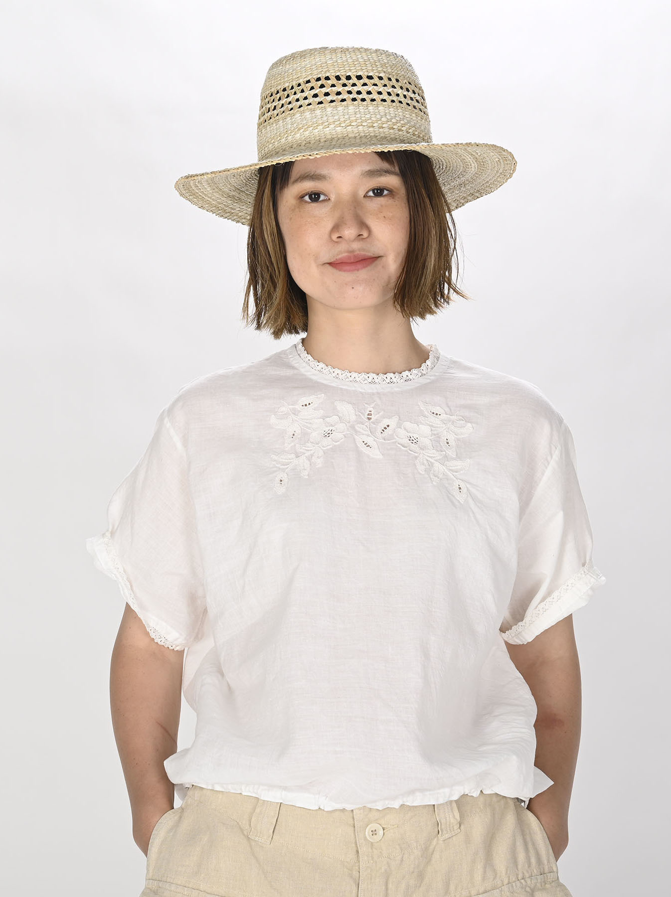 Khadi Stitch de T-shirt (0721)-2