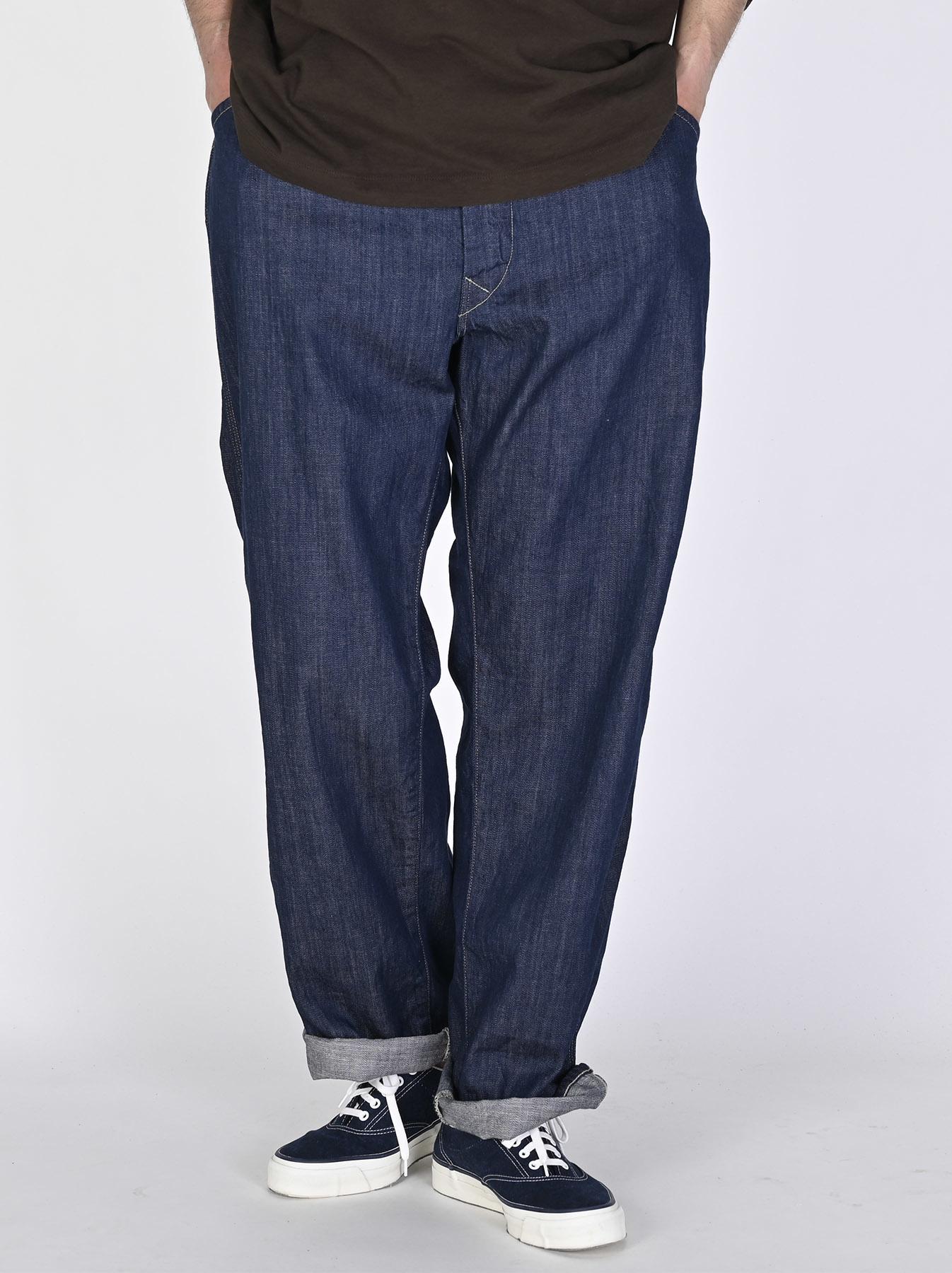 Indigo Nou 908 Painter Pants (0721)-2