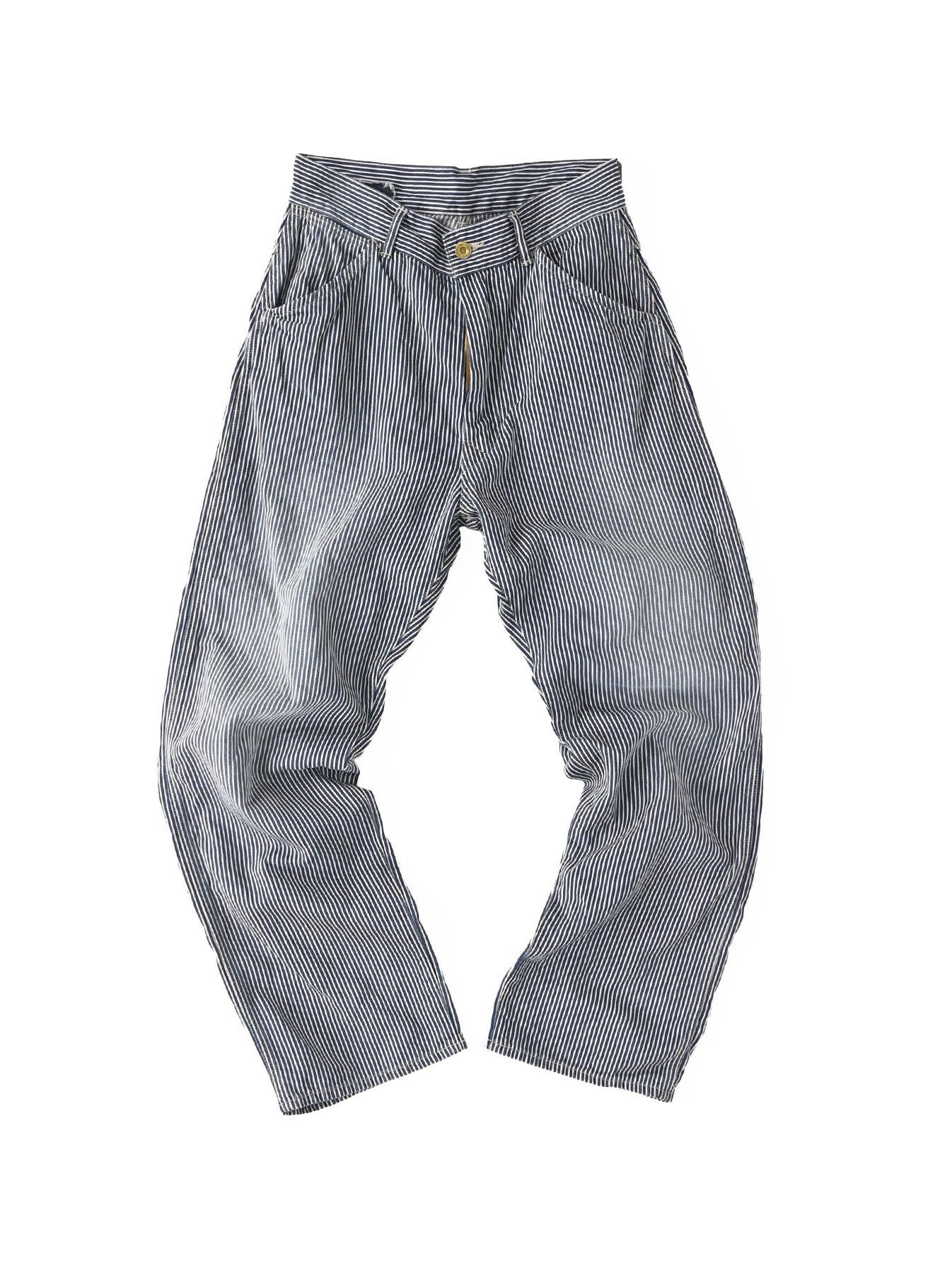Indigo 908 Painter Pants Distressed (0721)-4