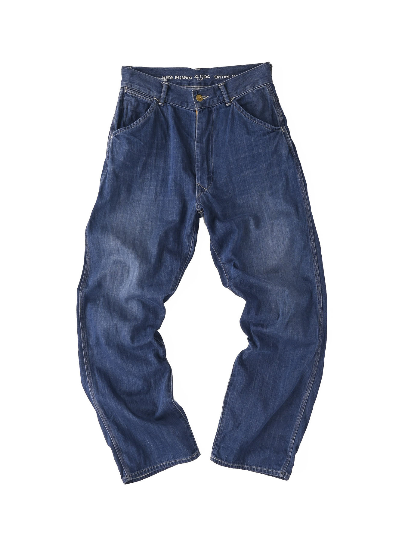 Indigo 908 Painter Pants Distressed (0721)-1