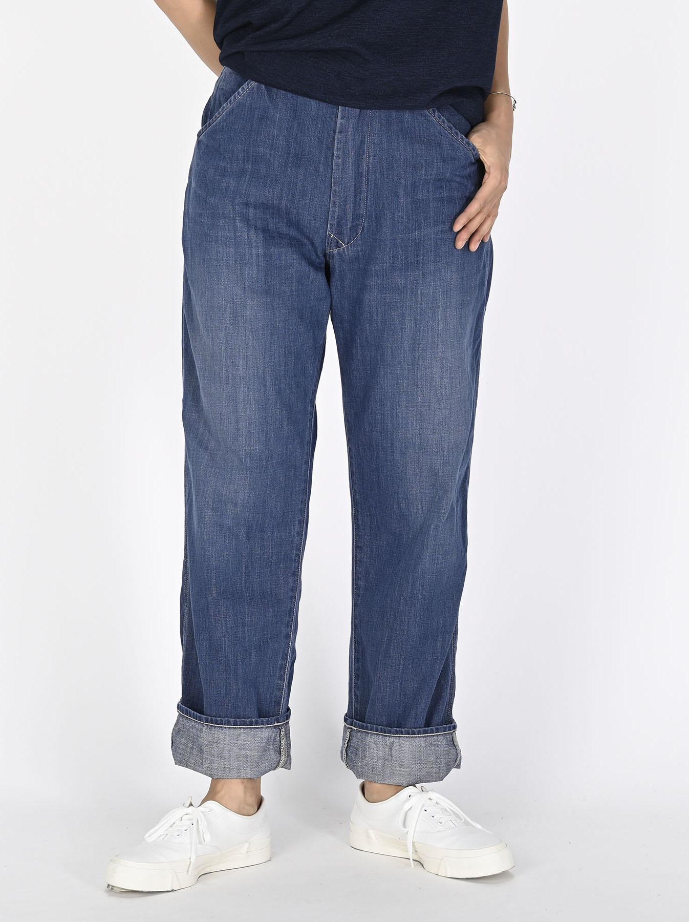 Indigo 908 Painter Pants Distressed (0721)-3