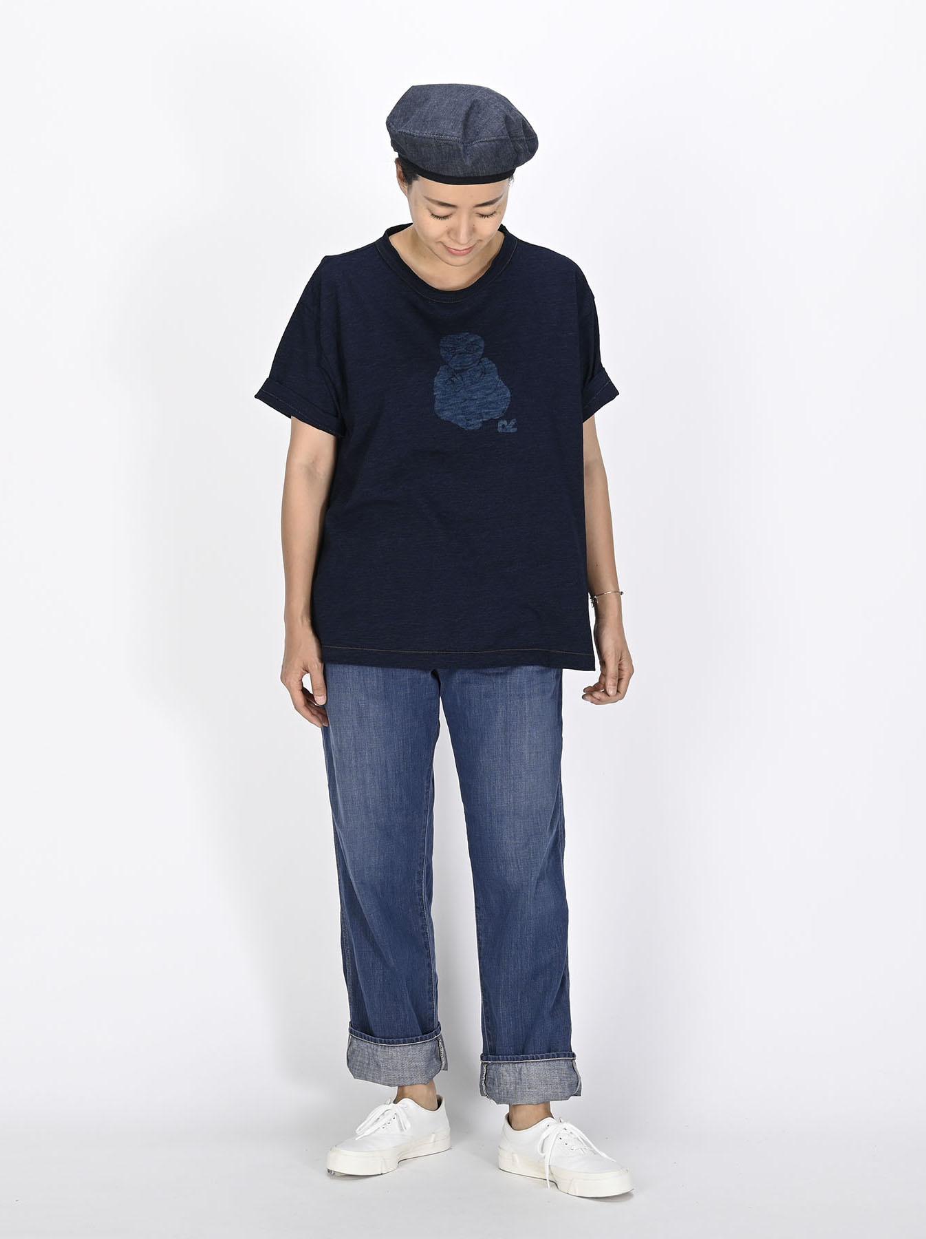 Indigo 908 Painter Pants Distressed (0721)-2
