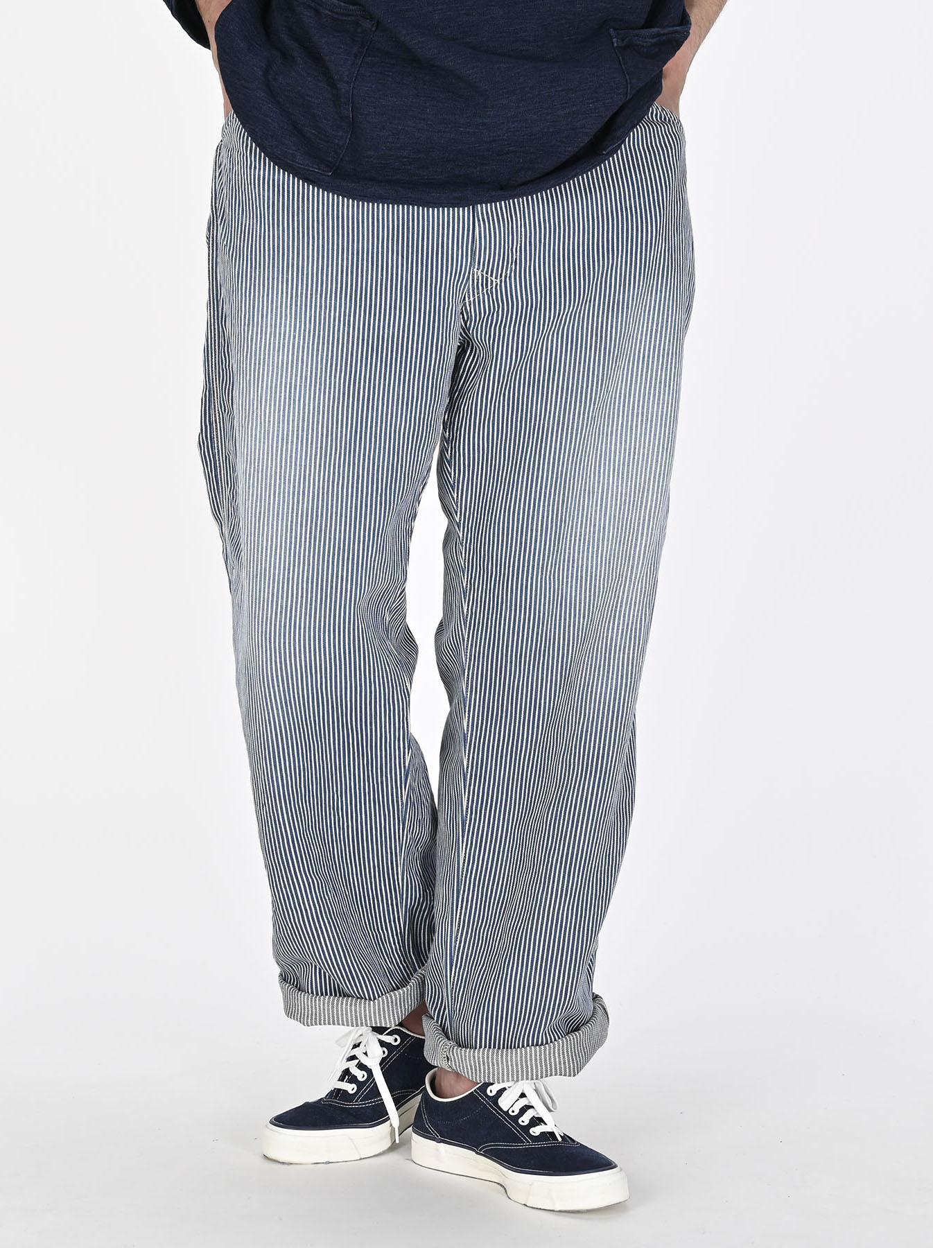 Indigo 908 Painter Pants Distressed (0721)-6