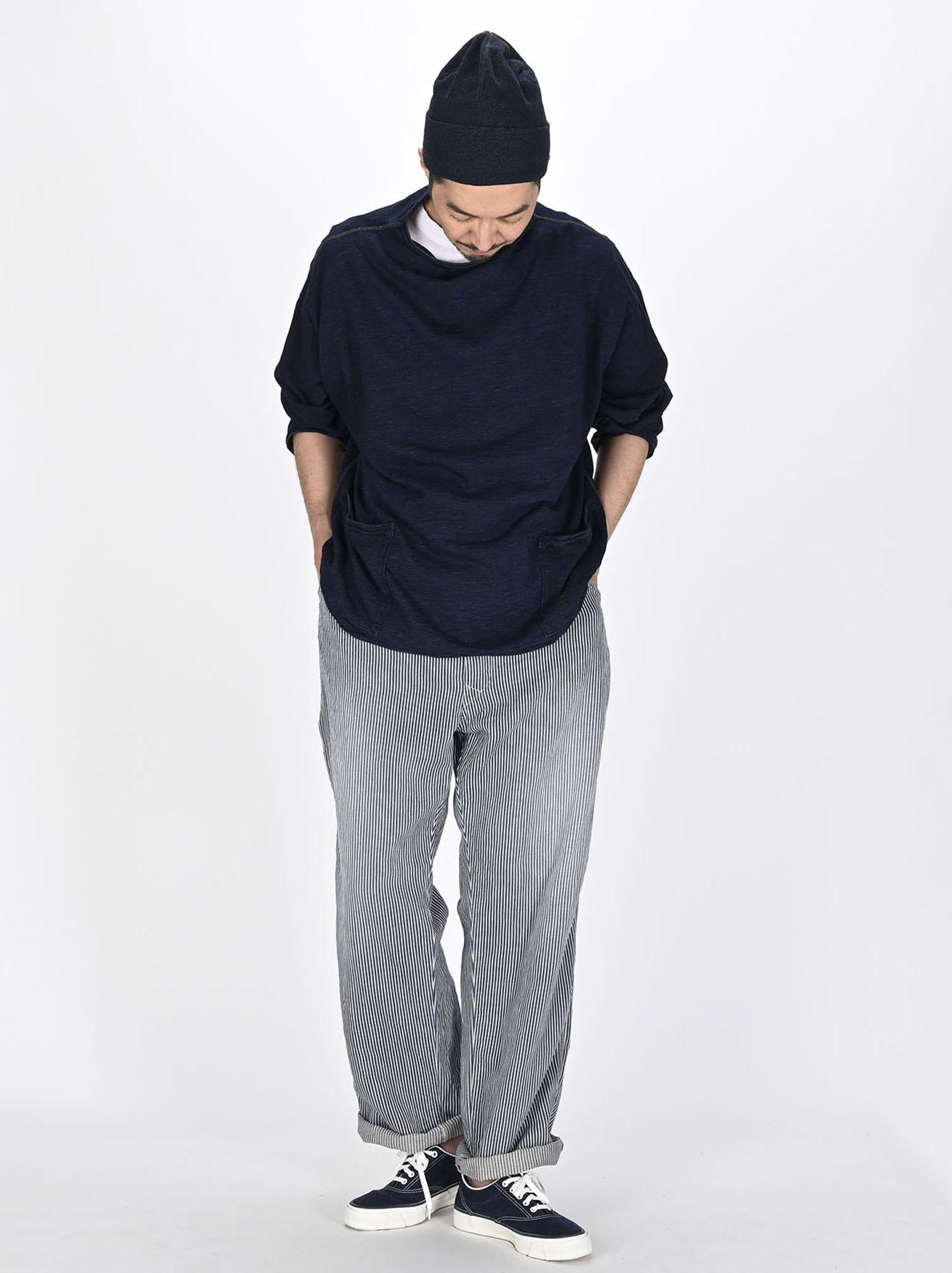 Indigo 908 Painter Pants Distressed (0721)-5