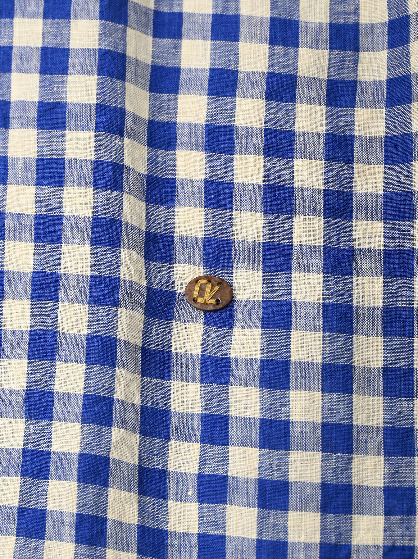 Indian Gauze Linen Big Shirt Dress-11