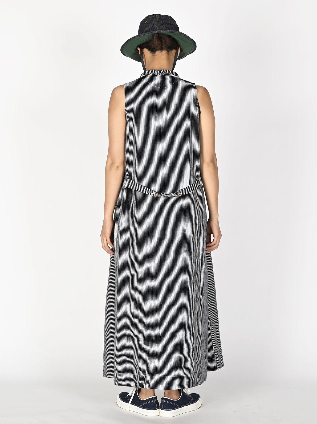 Komugi Denim Vest Dress-4