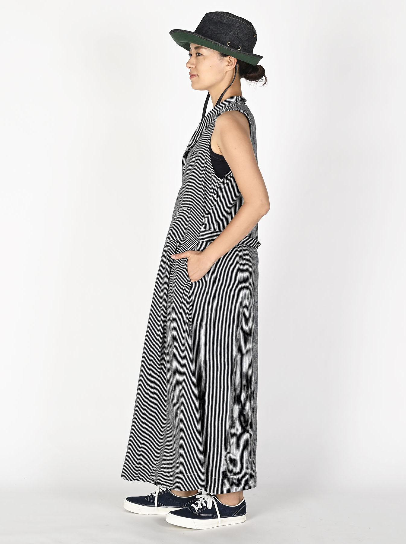 Komugi Denim Vest Dress-3