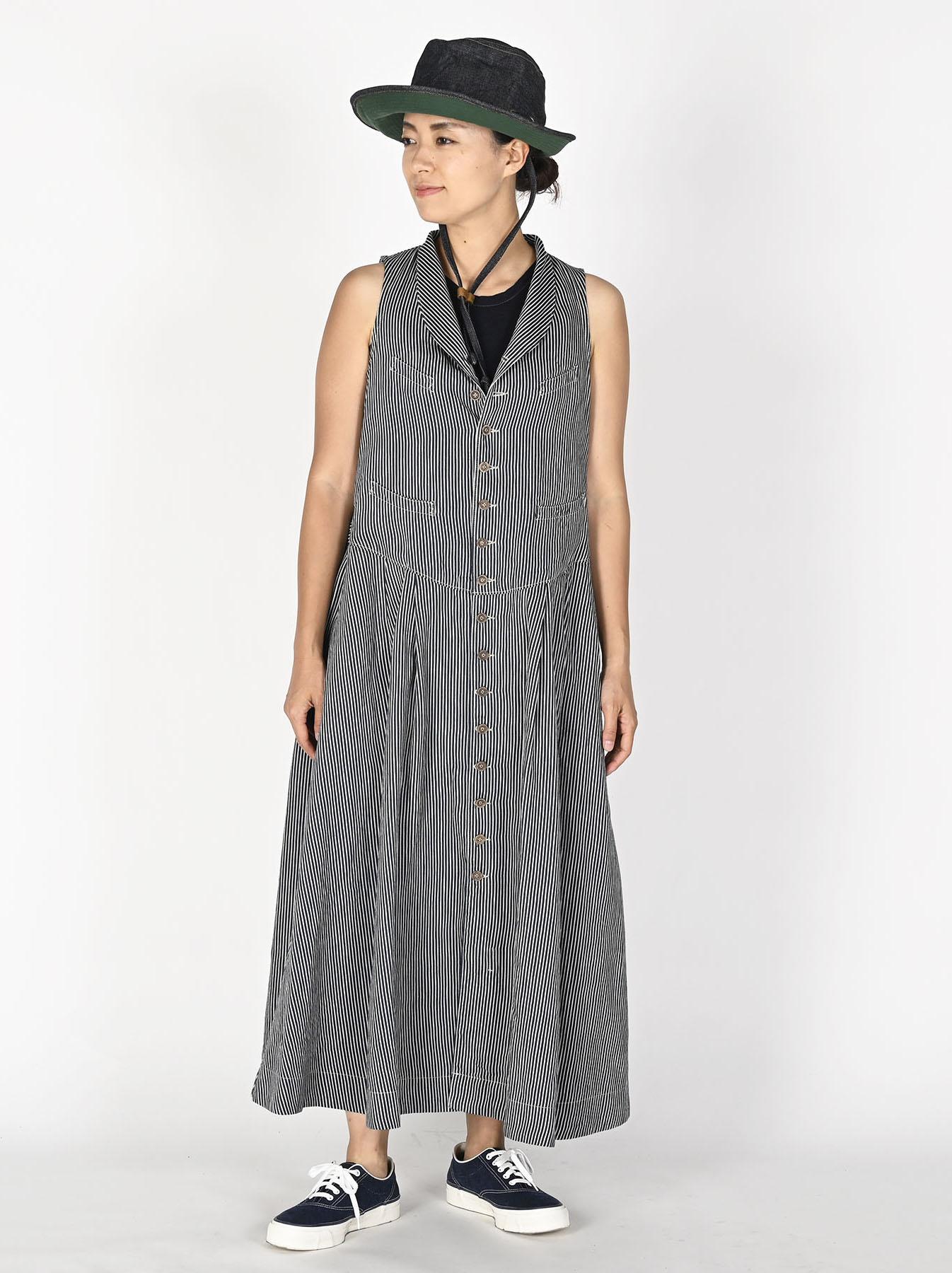 Komugi Denim Vest Dress-2