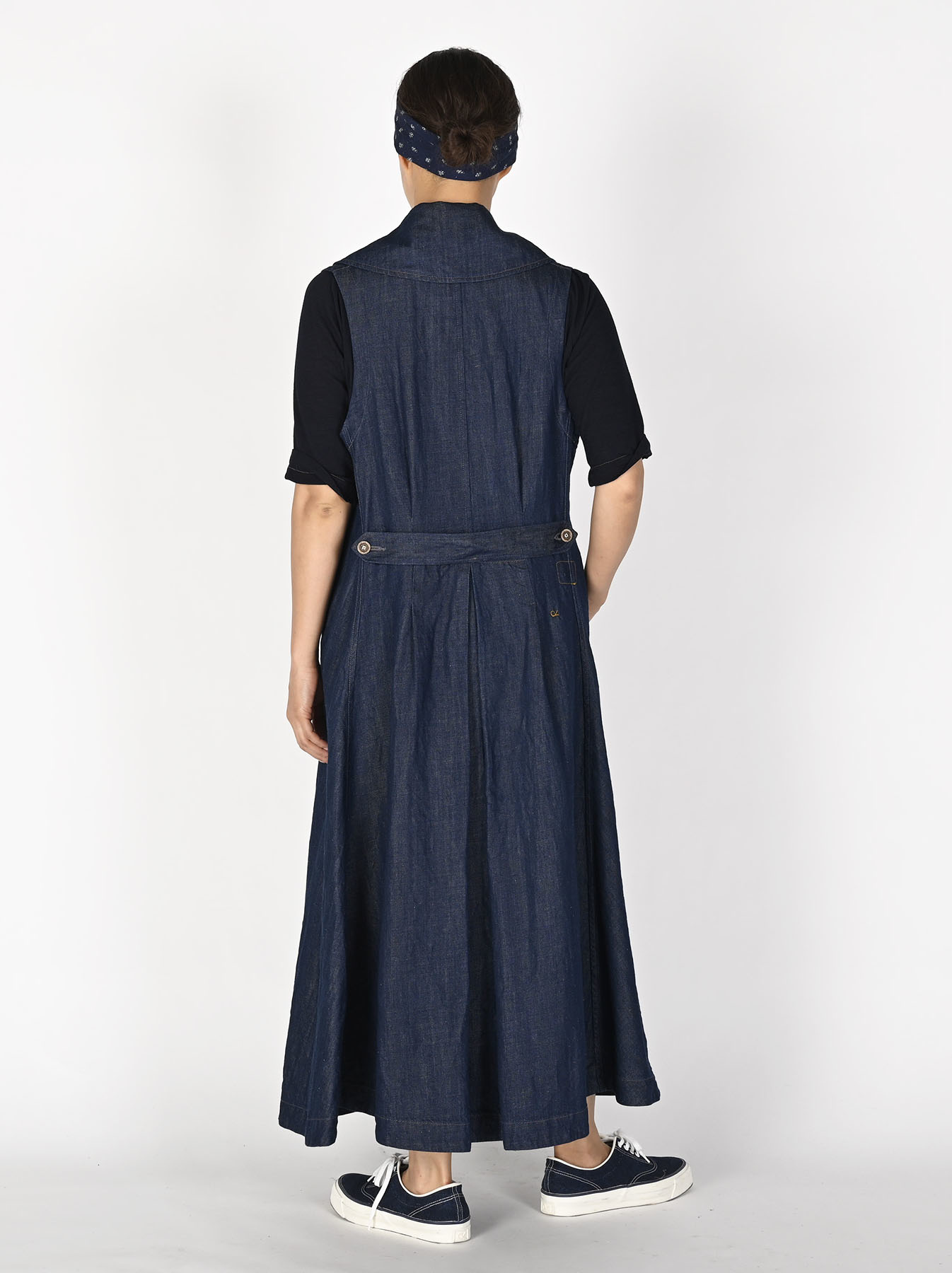 Komugi Denim P-Dress-4