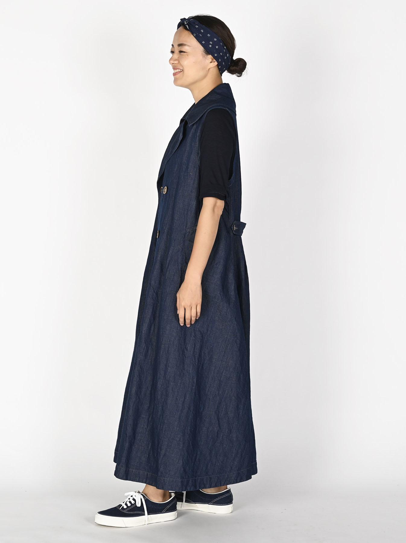 Komugi Denim P-Dress-3