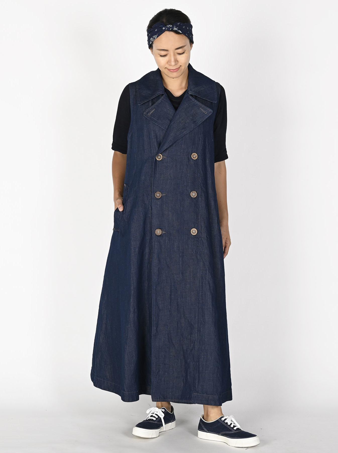 Komugi Denim P-Dress-2