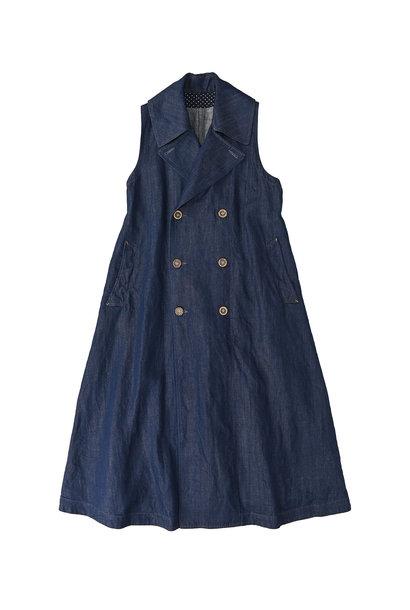 Komugi Denim P-Dress