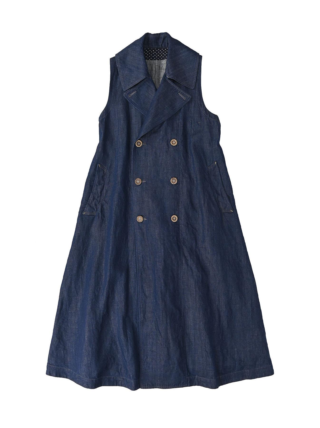 Komugi Denim P-Dress-1